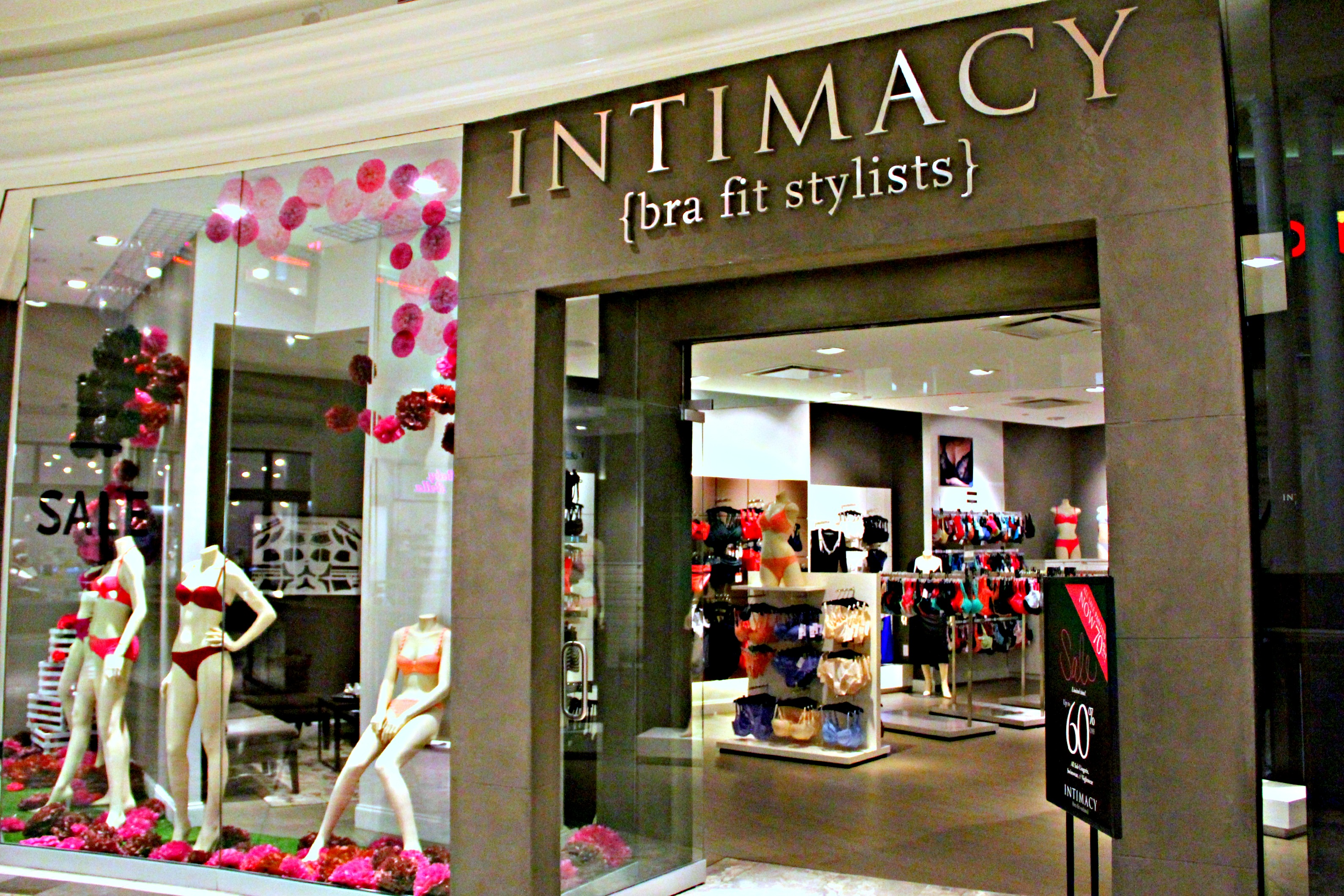 National Bra Fit Styling Month at Intimacy