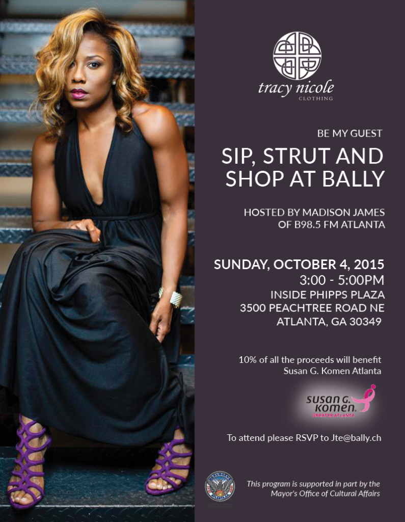 Balley x Tracy Nicole Fashion Show Invite