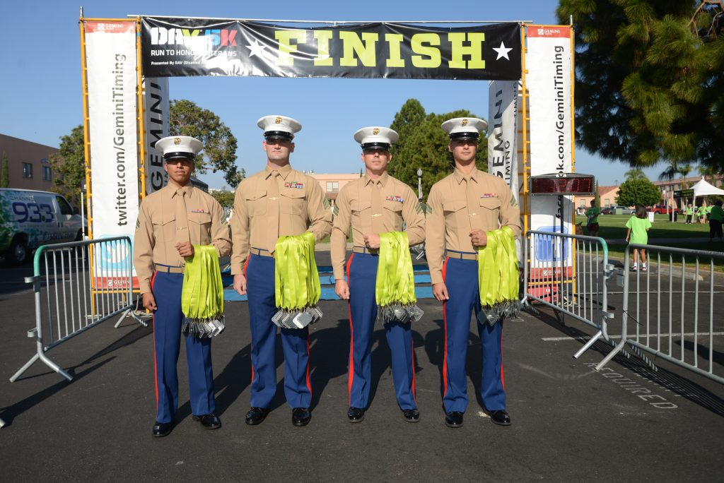 DAV 5k San Diego NTC Park November 9, 2014. (photo by Kent Horner)