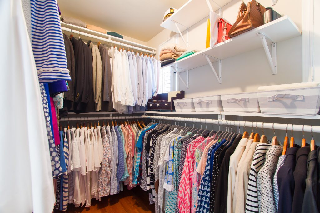 Closet Spring Cleaning Konmari Method