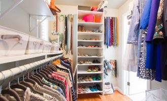 Closet Spring Cleaning