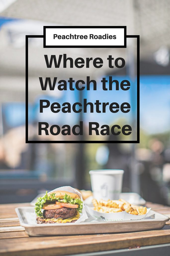 Where to Watch the Peachtree Road Race