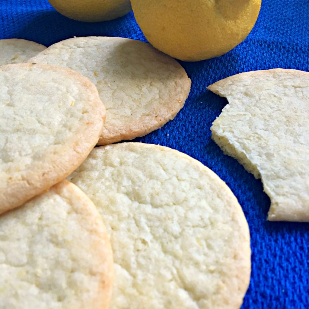 Best Lemon Snap Cookie Recipe