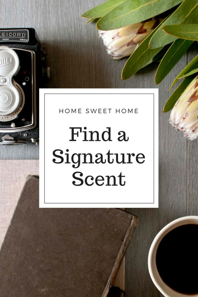 Signature Scent for the Home