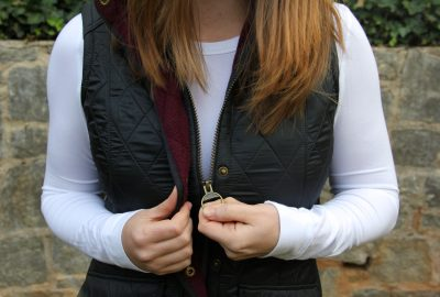 My Favorite Barbour Vest – Cold Weather Essentials