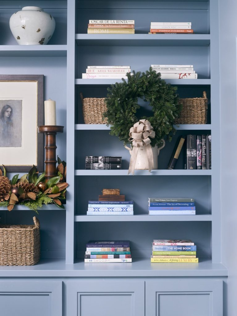 Holiday Decorating with Blue