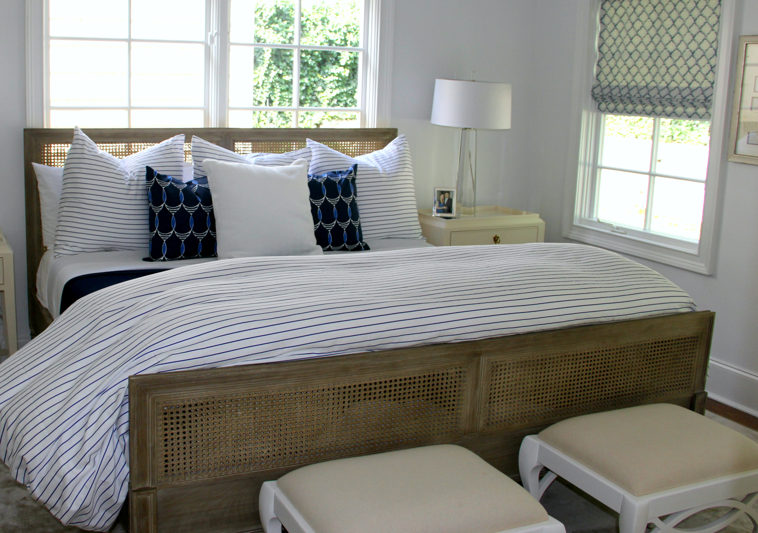 blue and white master bedroom blue and white master bedroom with stripes and nautical 18363